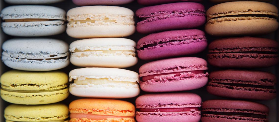 Material d'hostaleria per fer macarons