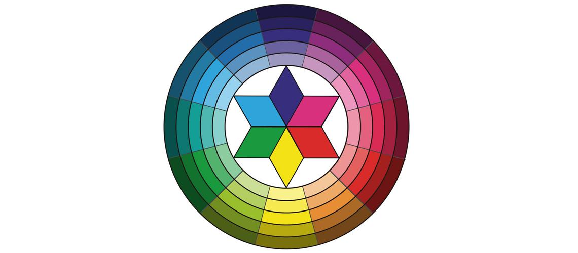 Rueda de colores en hostelería.