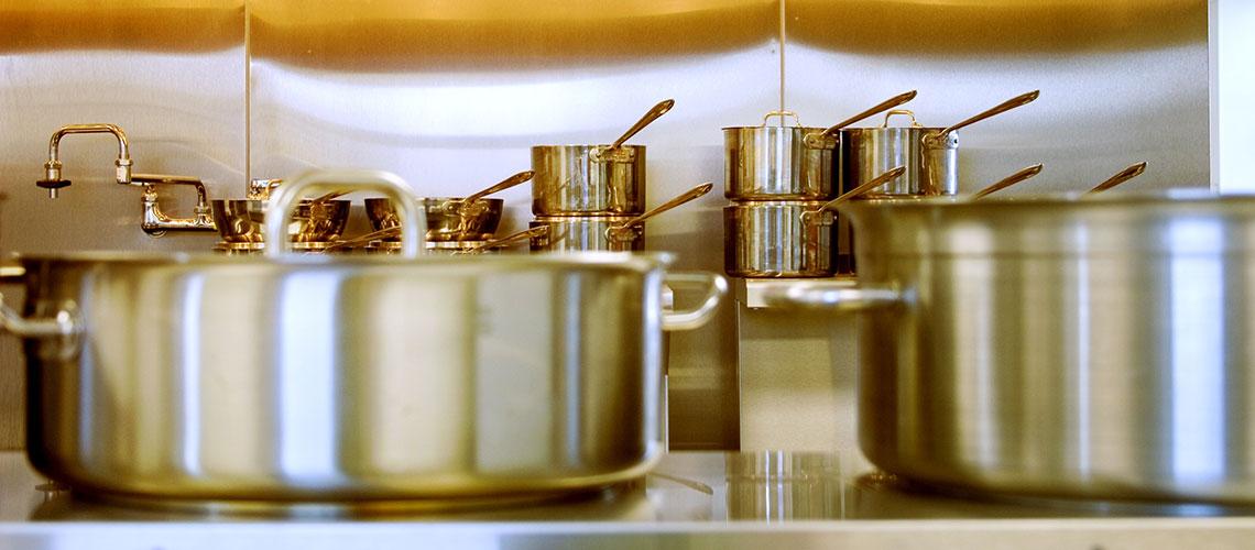 Batería de cocina: qué material escoger